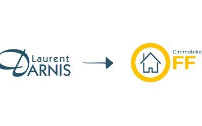 Laurent Darnis devient L'immobilier OFF