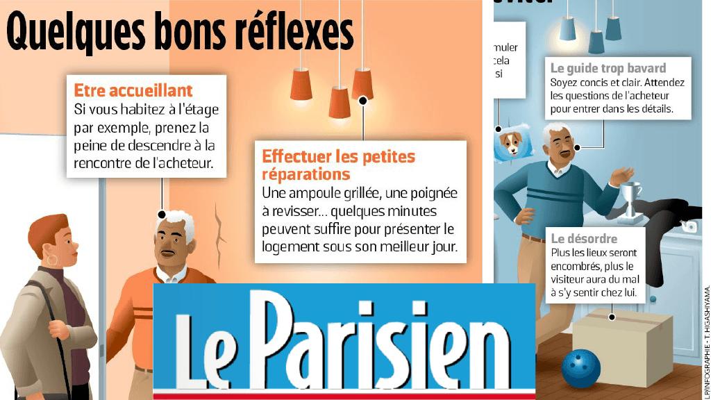 Interview avec Le Parisien : 10 Conseils pour vendre