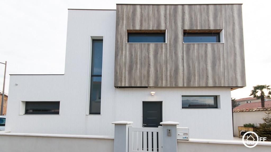 L'IMMOBILIER OFF - Maison d'architecte à vendre Décines Bonnev