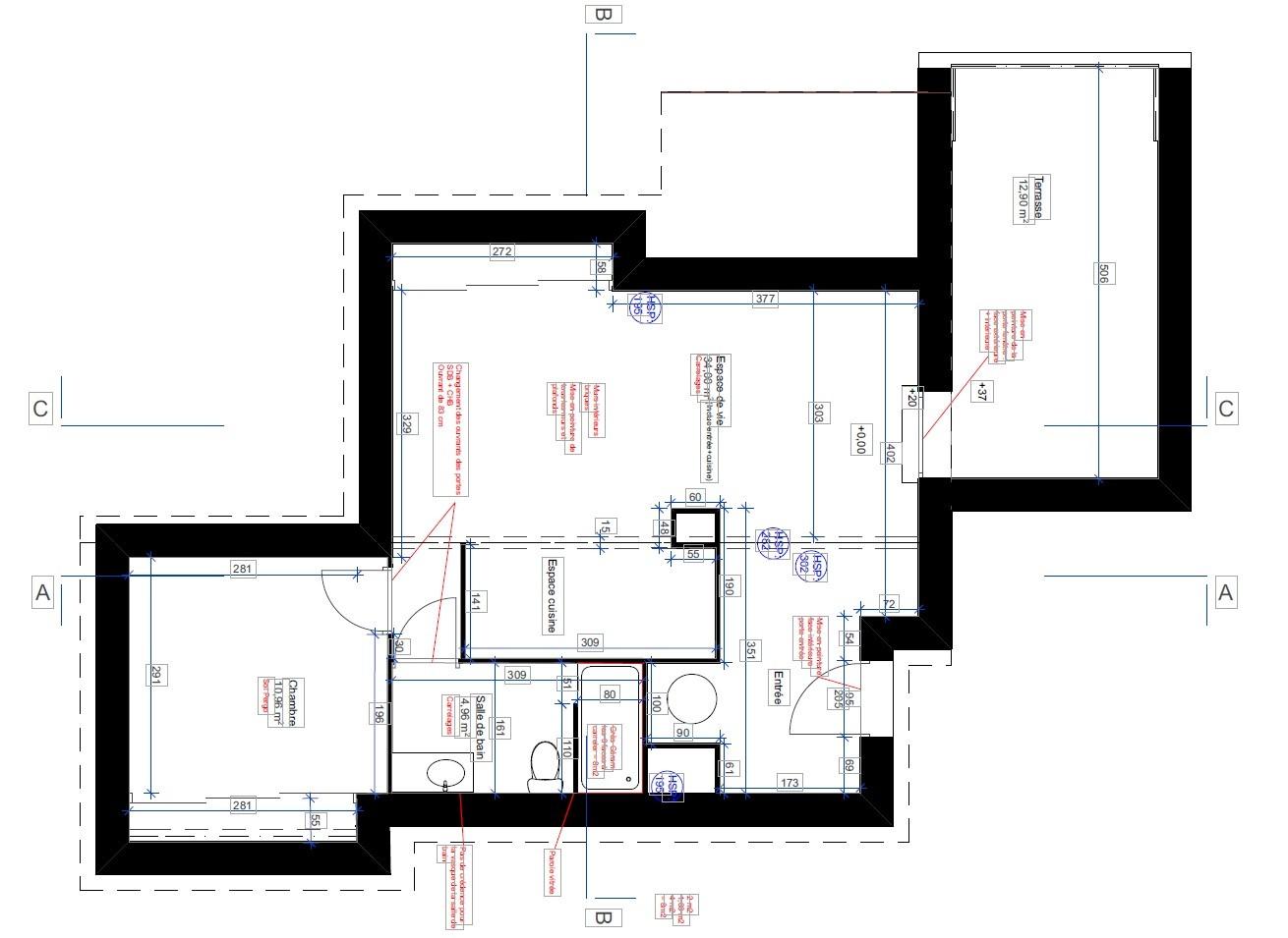 L'immobilier OFF - Appartement T2 à louer Genas Centre