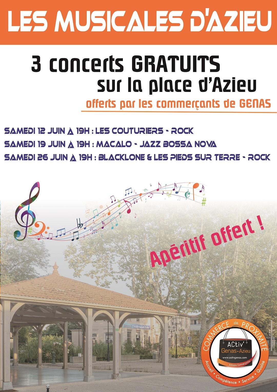 Les Musicales d'Azieu 2021