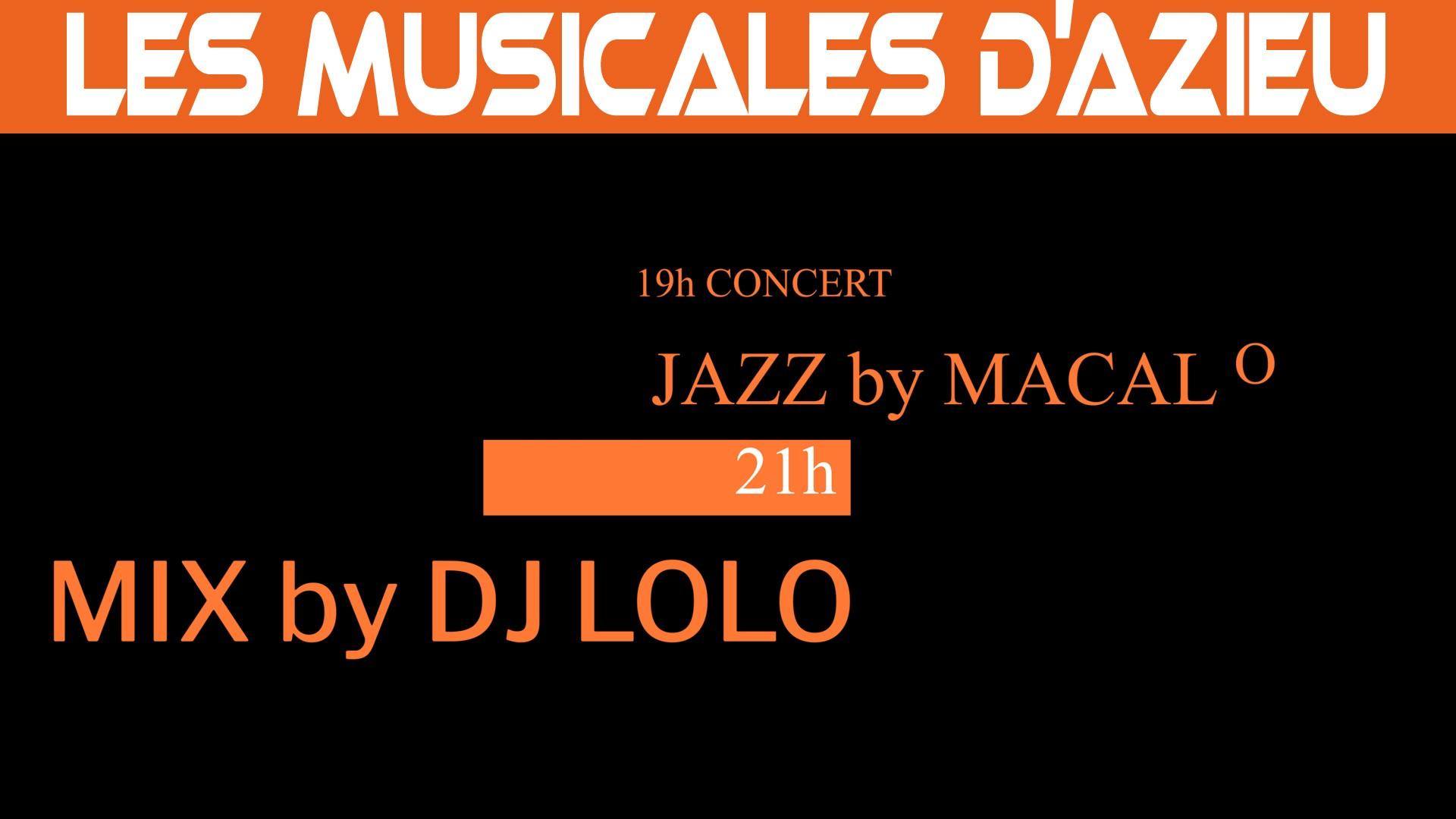 Les Musicales d'Azieu 2021 - Concert & DJ le 19 juin 2021