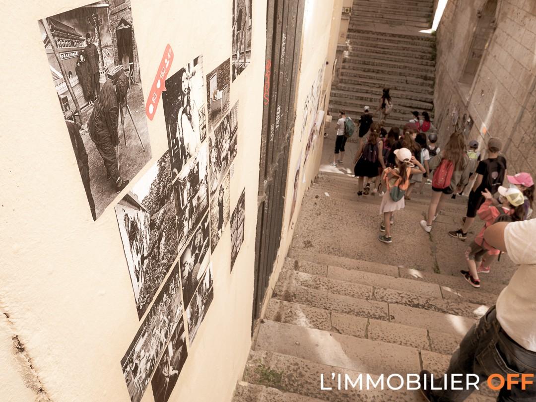 L'immobilier OFF - Les Pentes de la Croix Rousse - STreet Art