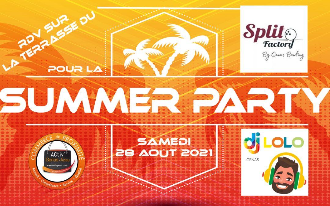 Summer Party 2021 Activ Genas Split Factory