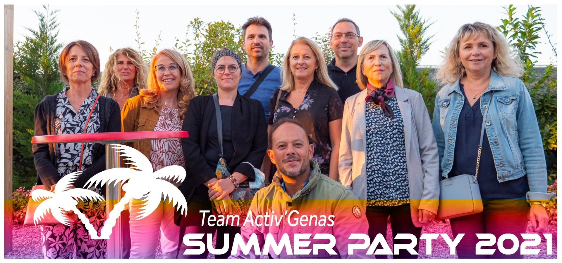Summer Party Split Factory Activ GEnas